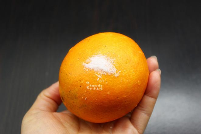 润肺止咳,罗汉果蒸橙子的家常做法