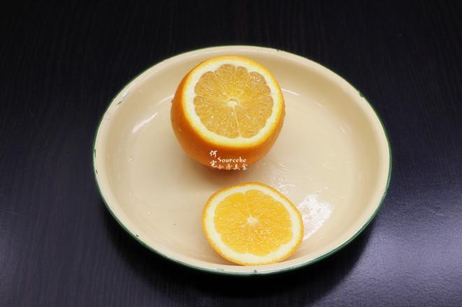 润肺止咳,罗汉果蒸橙子的简单做法