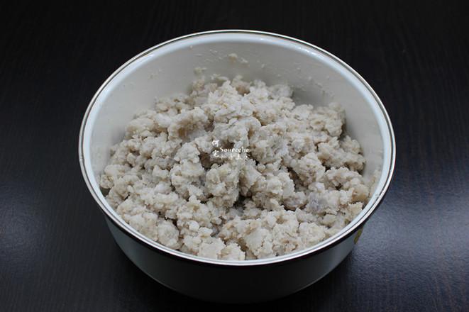 酥香芋头虾米丸子的简单做法