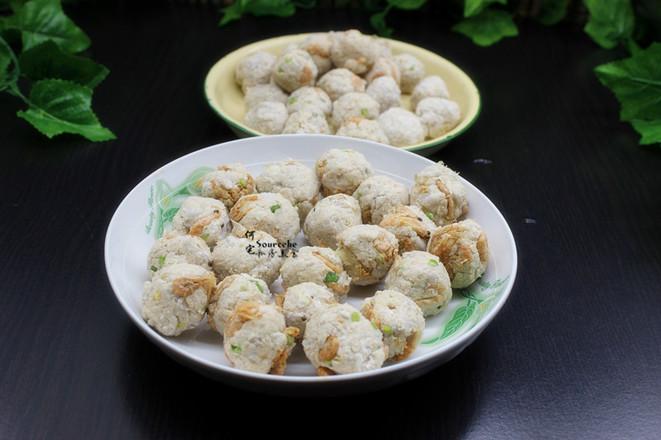 酥香芋头虾米丸子怎么煮