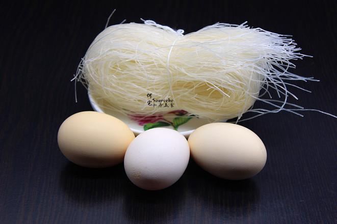 营养早餐,粉丝蒸滑蛋的做法大全