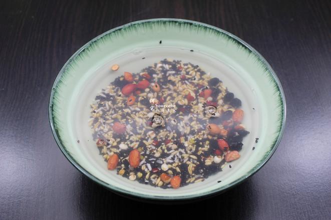 五谷养胃粥的做法图解