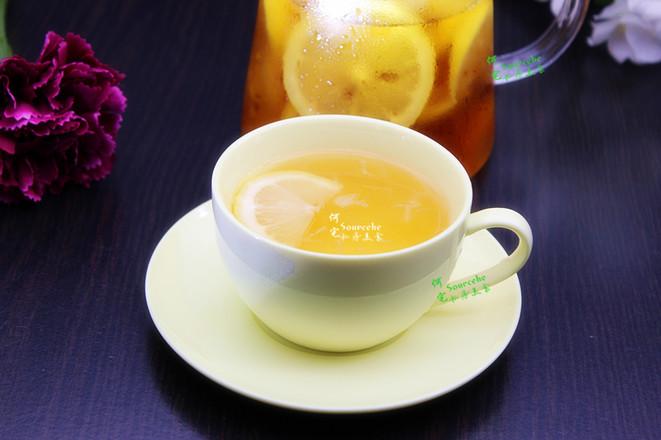 清香柠檬蜂蜜茶怎么吃