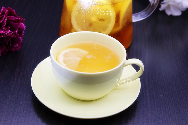 清香柠檬蜂蜜茶成品图