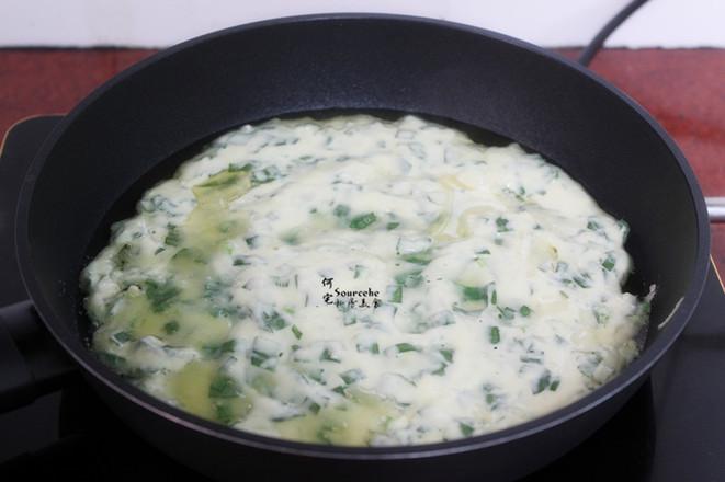 韭菜鸡蛋饼怎么做