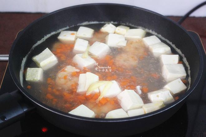 虾仁豆腐汤怎么做