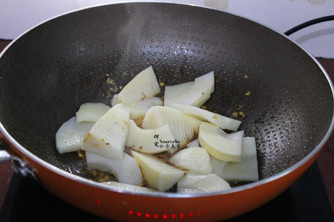 醬香油燜筍的步驟
