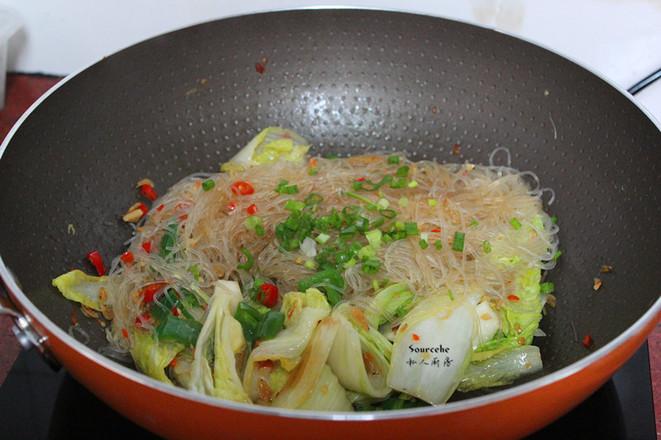 虾米炒粉丝怎么煮