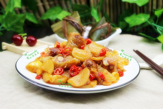 剩余粽子花样吃,泡菜炒粽子怎么做