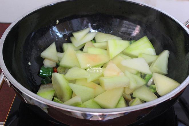 香辣风味西瓜皮的简单做法