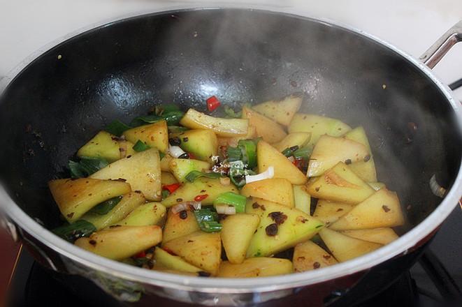 香辣风味西瓜皮怎么吃