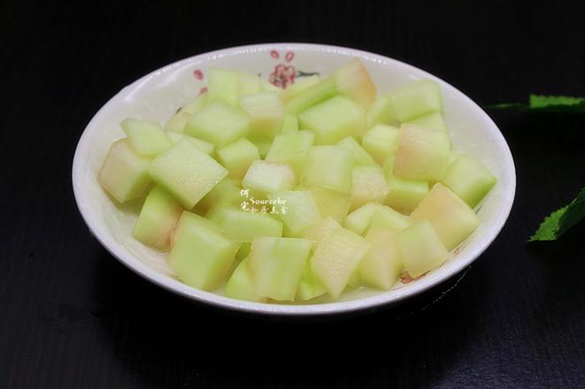 西瓜皮绿豆汤的做法图解