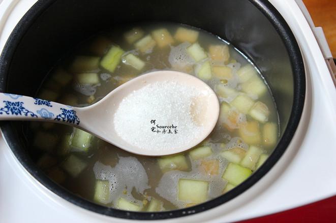 西瓜皮绿豆汤怎么吃
