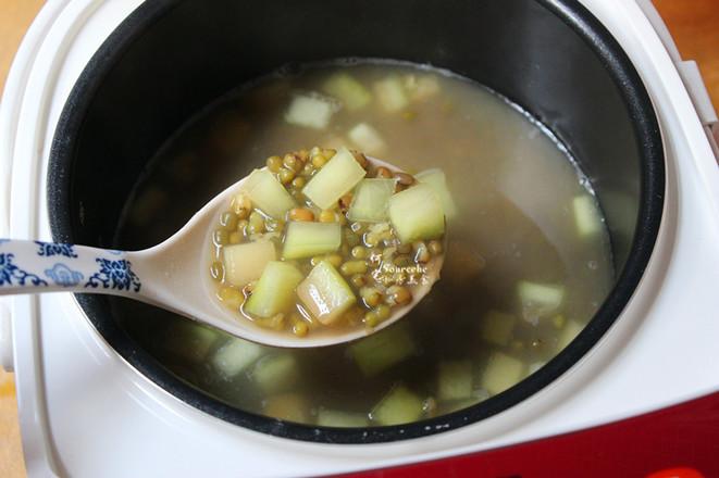 西瓜皮绿豆汤怎么做