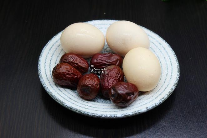 生姜红枣煮鸡蛋的步骤