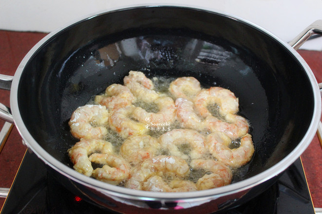 酥香虾仁怎么吃