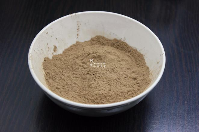 红糖黑凉粉的做法大全