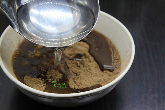 红糖黑凉粉的做法图解