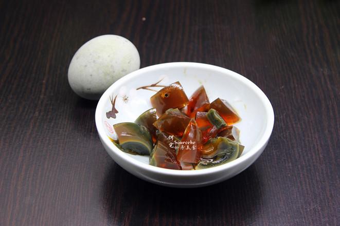 木耳菜皮蛋汤的做法图解