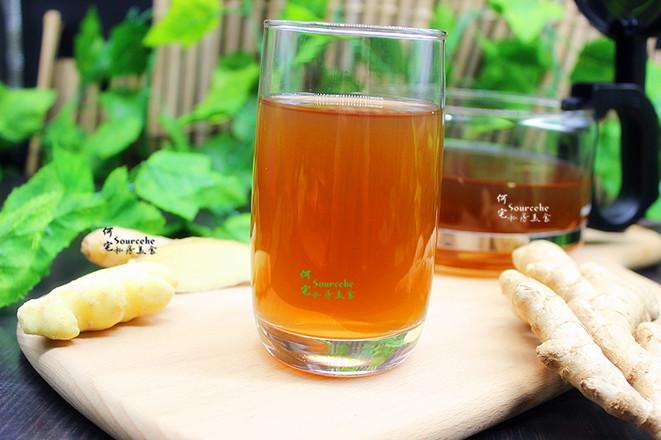 夏日红糖生姜养生茶怎么吃