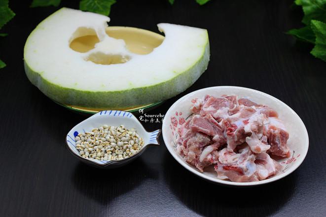 健脾祛湿,冬瓜薏米排骨汤的做法大全