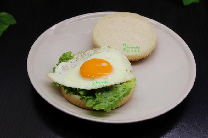 煎蛋汉堡怎么做