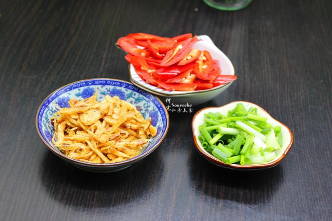 虾皮炒空心菜的家常做法
