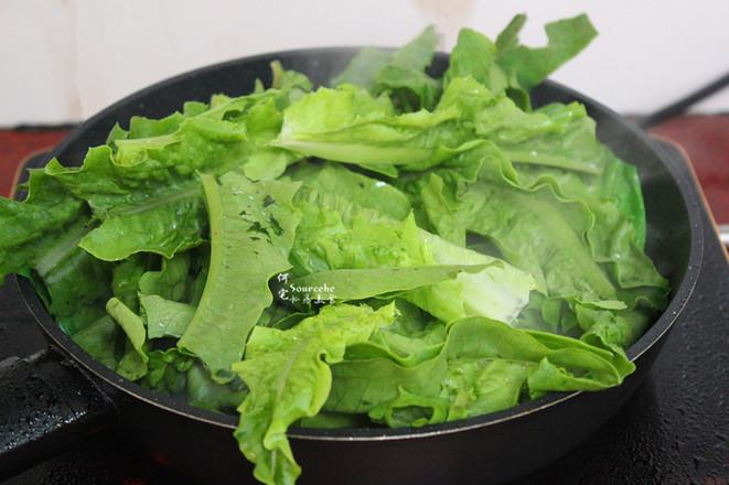 蒜蓉炒油麦菜的简单做法