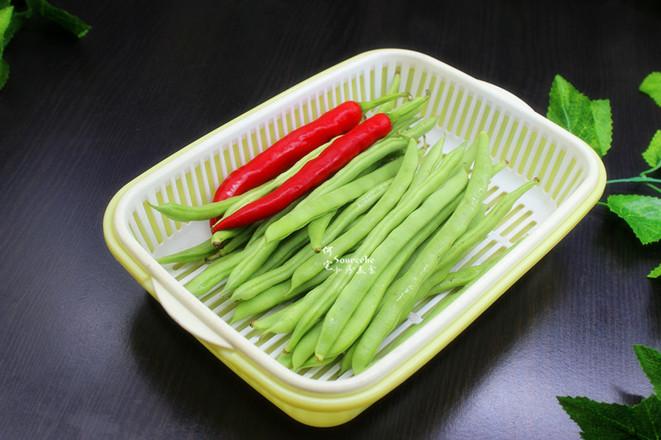 干煸四季豆的做法大全