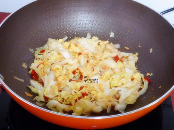 香辣卷心菜的简单做法