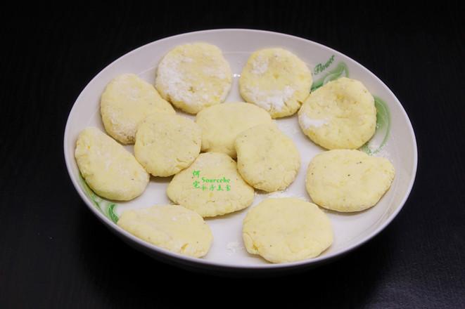 土豆煎饼的步骤