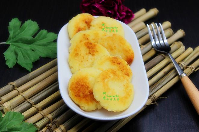 土豆煎饼成品图
