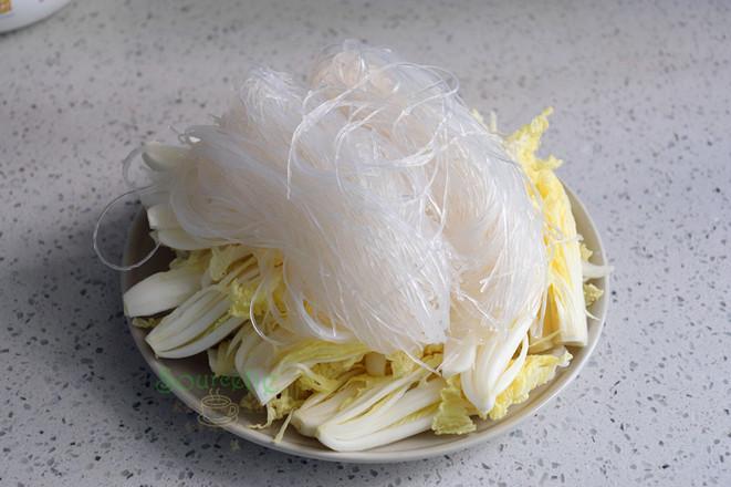 大白菜蒸粉丝的简单做法