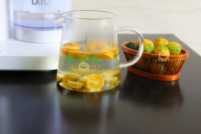 蜂蜜小青檬茶怎么吃