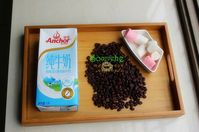 棉花糖咖啡的做法大全