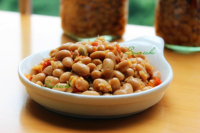 红辣椒炒腊八豆的做法大全