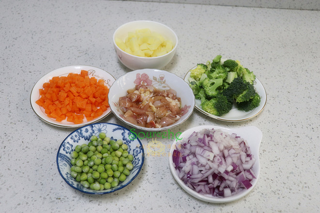 咖喱鸡腿饭的简单做法