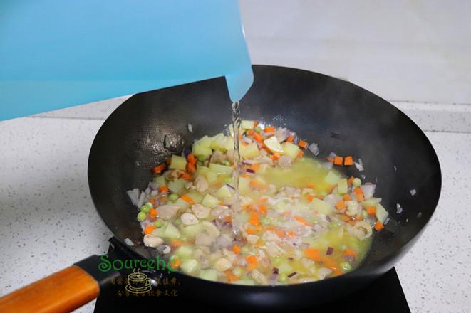 咖喱鸡腿饭怎么煮