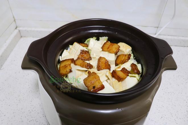 大白菜炖豆腐怎么吃