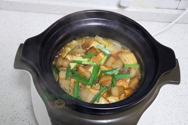 大白菜炖豆腐怎么做