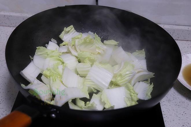 大白菜炖豆腐的简单做法