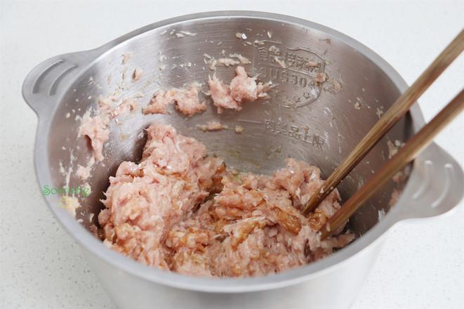 荞麦鲜肉包的步骤