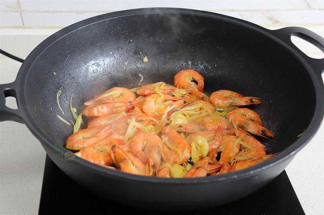 油焖大虾的步骤