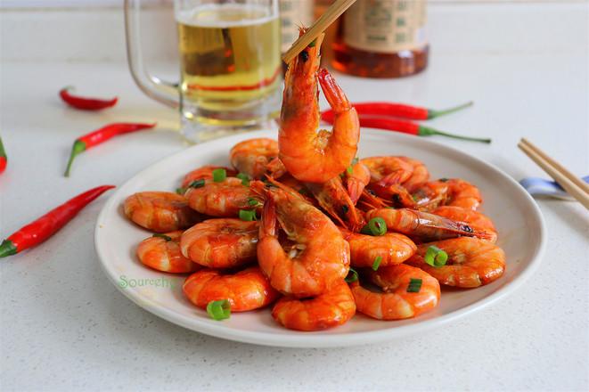 油焖大虾成品图