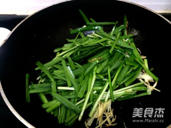 韭菜豆腐丝怎么做