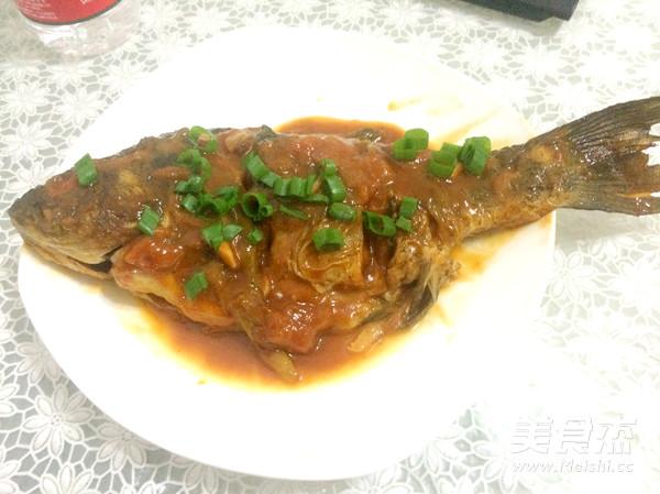 茄汁鲫鱼怎样炒