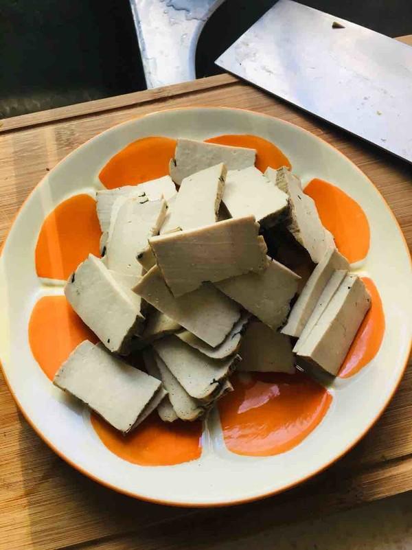 辣椒豆瓣酱炒臭豆腐干的做法大全