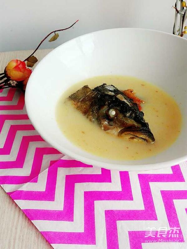 奶白鱼头汤怎么吃