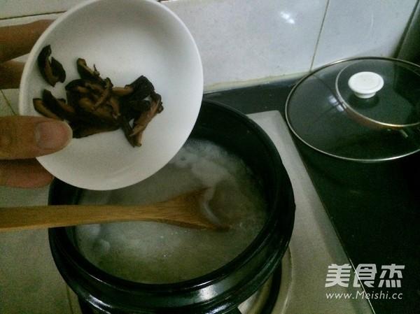 香菇鸡肉粥怎么吃