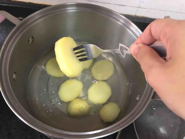 咖喱土豆泥的家常做法